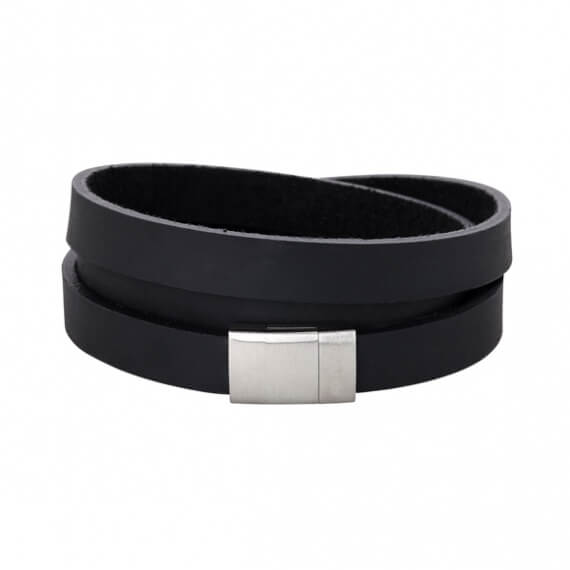 Lederband Looop black