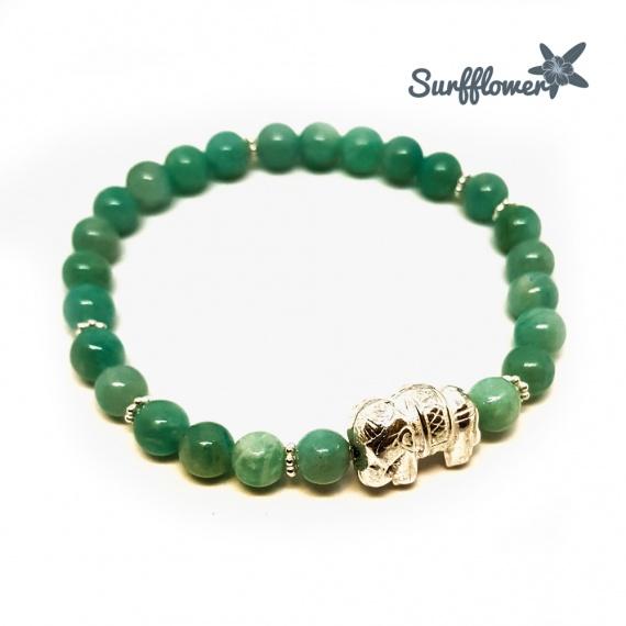 Lucky Green Elephant